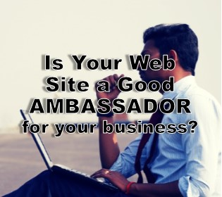 Case Study: Is your webpage a good ambassador?