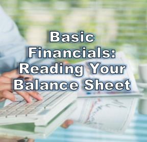Basic Financials: Reading a Balance Sheet