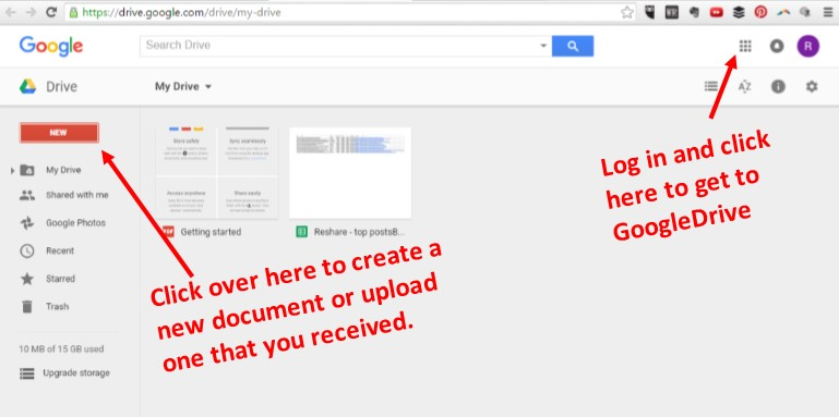 microsoft alternative Google Drive