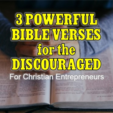 Bible verses for discouragement