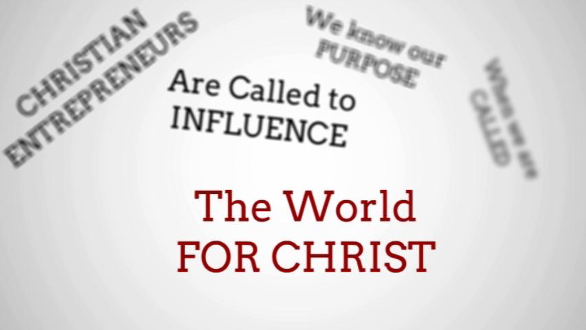 Christian entrepreneur encouraging video