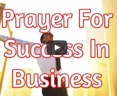 prayer for business