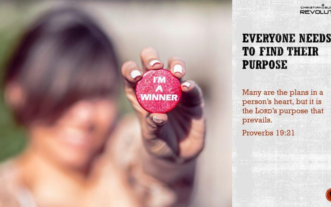 Business Bible Wisdom: Purpose