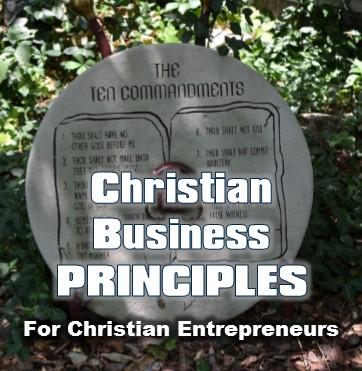 Christian business ethics principles