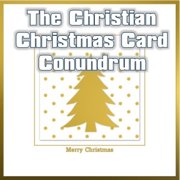 Christian Business Christmas card