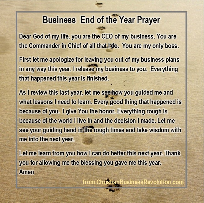 business prayer