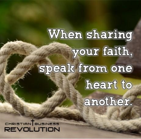 sharing your faith