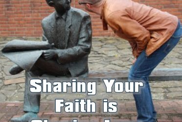 What does it require to share your faith?